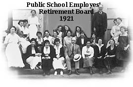 PSERS Retirement Board in 1921
