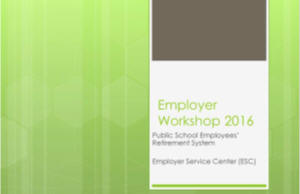 Employer Workshop 2016