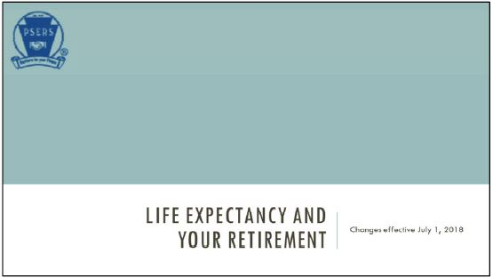 Impact of Changes to Life Expectancy Assumptions