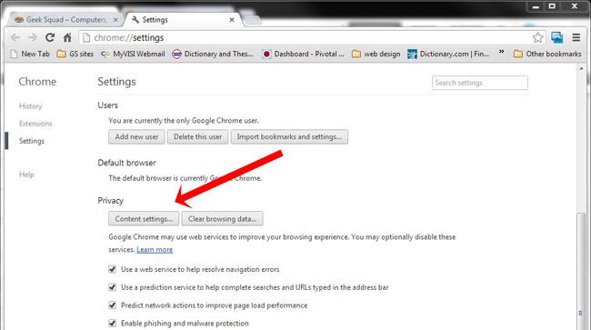 Popup Blocker Aktivieren Chrome
