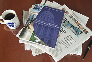 PSERS booklet and newspapers